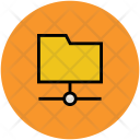 File Folder Connected Icon