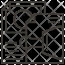 File Design Stationery Icon