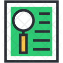 File Magnifier Magnifying Icon
