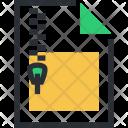 File Folder Zip Icon