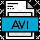 File Avi Formats Icon