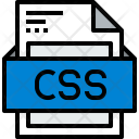 File Css Formats Icon