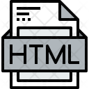 File Html Formats Icon