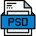 File Psd Formats Icon