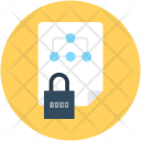 File Locked Security Icon