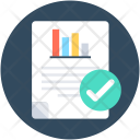 File Checked Approved Icon
