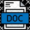 File Doc Formats Icon