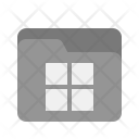 File Manager Collection Icon