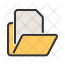 File Manager Paper Icon