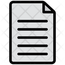 File Document Print Icon