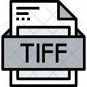 File Tiff Formats Icon