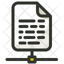 File Sharing Networking Icon