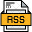 File Rss Formats Icon