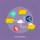 File Sharing Data Icon