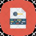 File Keyword Keywordfile Icon