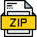 File Zip Formats Icon