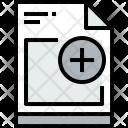 File Add Document Icon