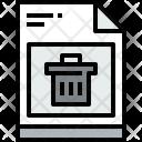 File Bin Document Icon