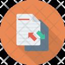 File Send Receive Icon