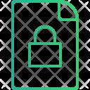 File Locked Data Icon