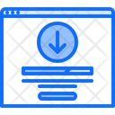 File Download Website Icon