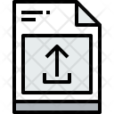 File Unload Document Icon