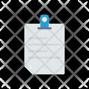 File Pin Attach Icon