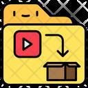 File Folder Play Icon
