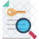 File Keyword Creation Research Icon