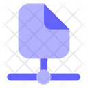File Share File File Connection Icon