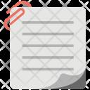 File Annex Attached Icon