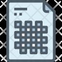 File Design Pattern Icon