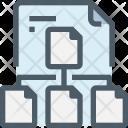 File Hierarchy Architecture Icon