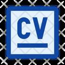File Resume Summary Icon