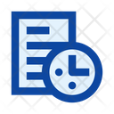 File Document Time Icon
