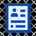 File Document Dossier Icon