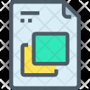 File Copy Layer Icon