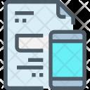 File Mobile Paper Icon