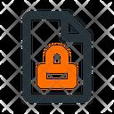 File Lock Icon