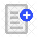 File Text Add Icon