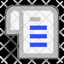 File List Schedule Icon