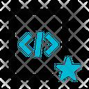 File Coding Programming Icon