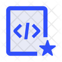 File Coding Programming Icon