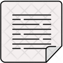Document Edge Folded Icon