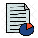 Chart Document File Icon
