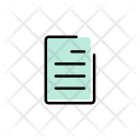 File Paper Notes Icon