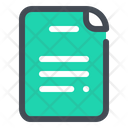 File Document Notes Icon