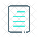 File Draft Note Icon
