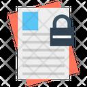 File Locked File File Security Icon