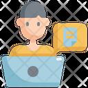 File Laptop Data Icon